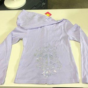 NWT Girls rhinestone hoodie